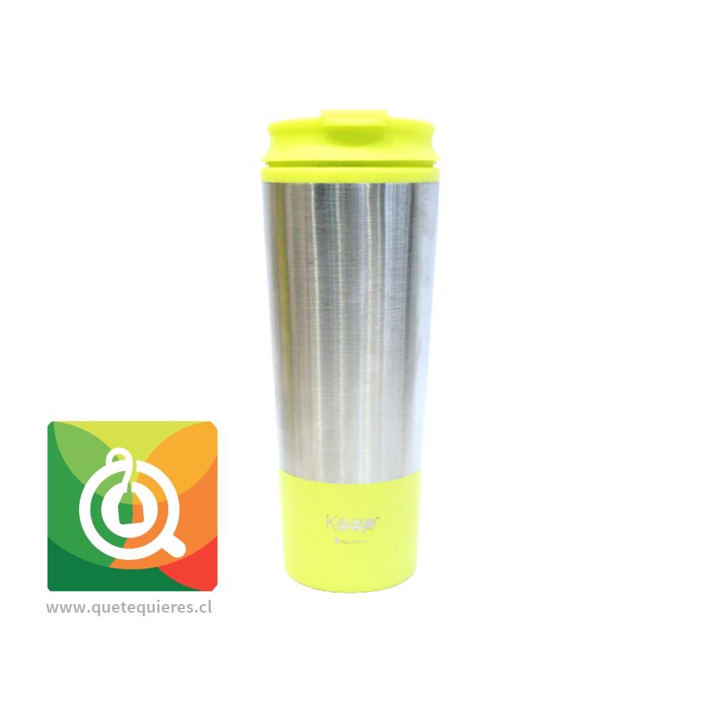 Keep Mug Metálico Amarillo