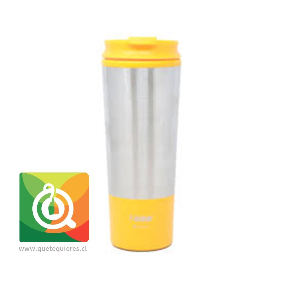 Keep Mug Metálico Naranjo