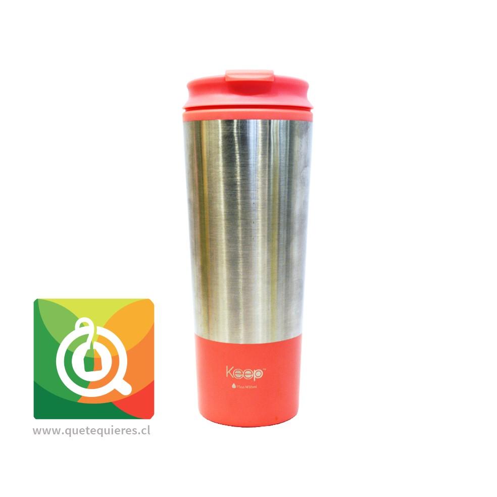 Keep Mug Metálico Rosado