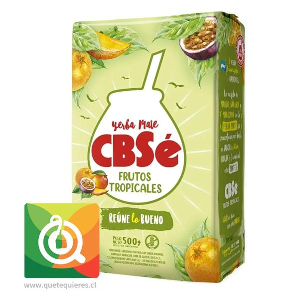 CBSé Yerba Mate de Frutos Tropicales