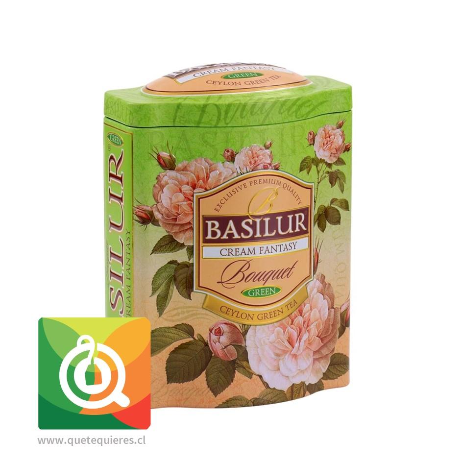 Basilur Té Verde Fantasía Crema Lata 100 gr