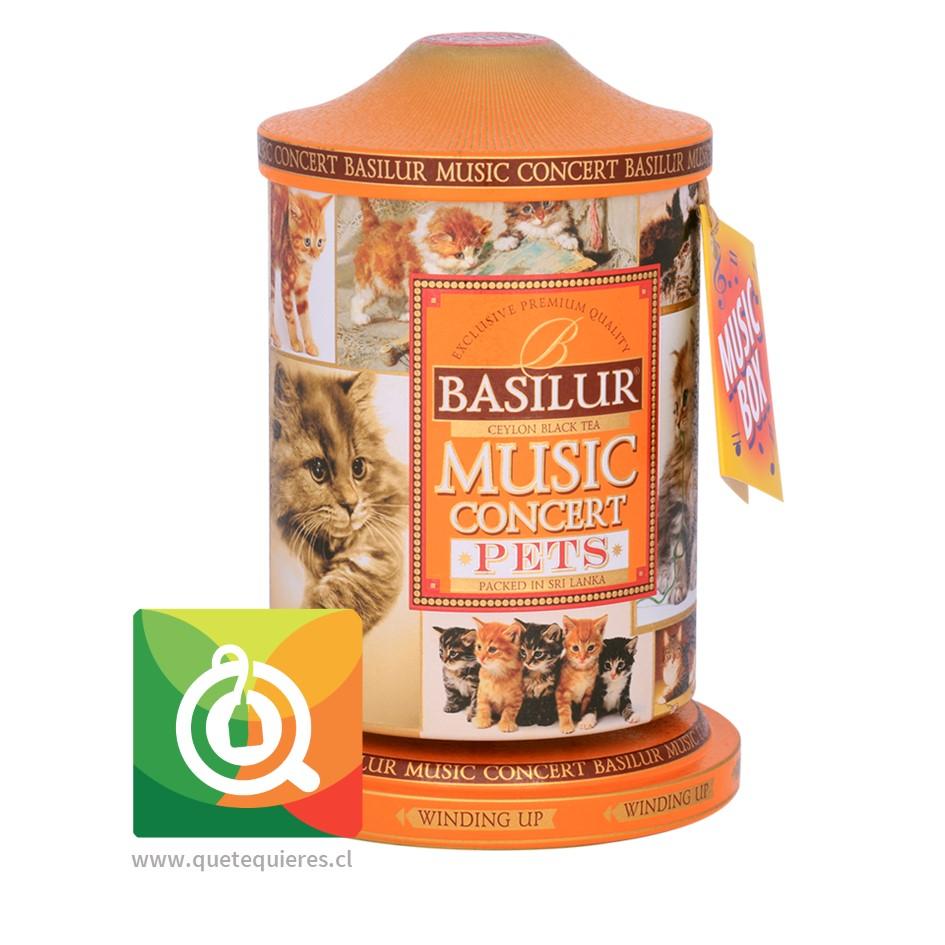 Basilur Té Negro Music Concert Pets