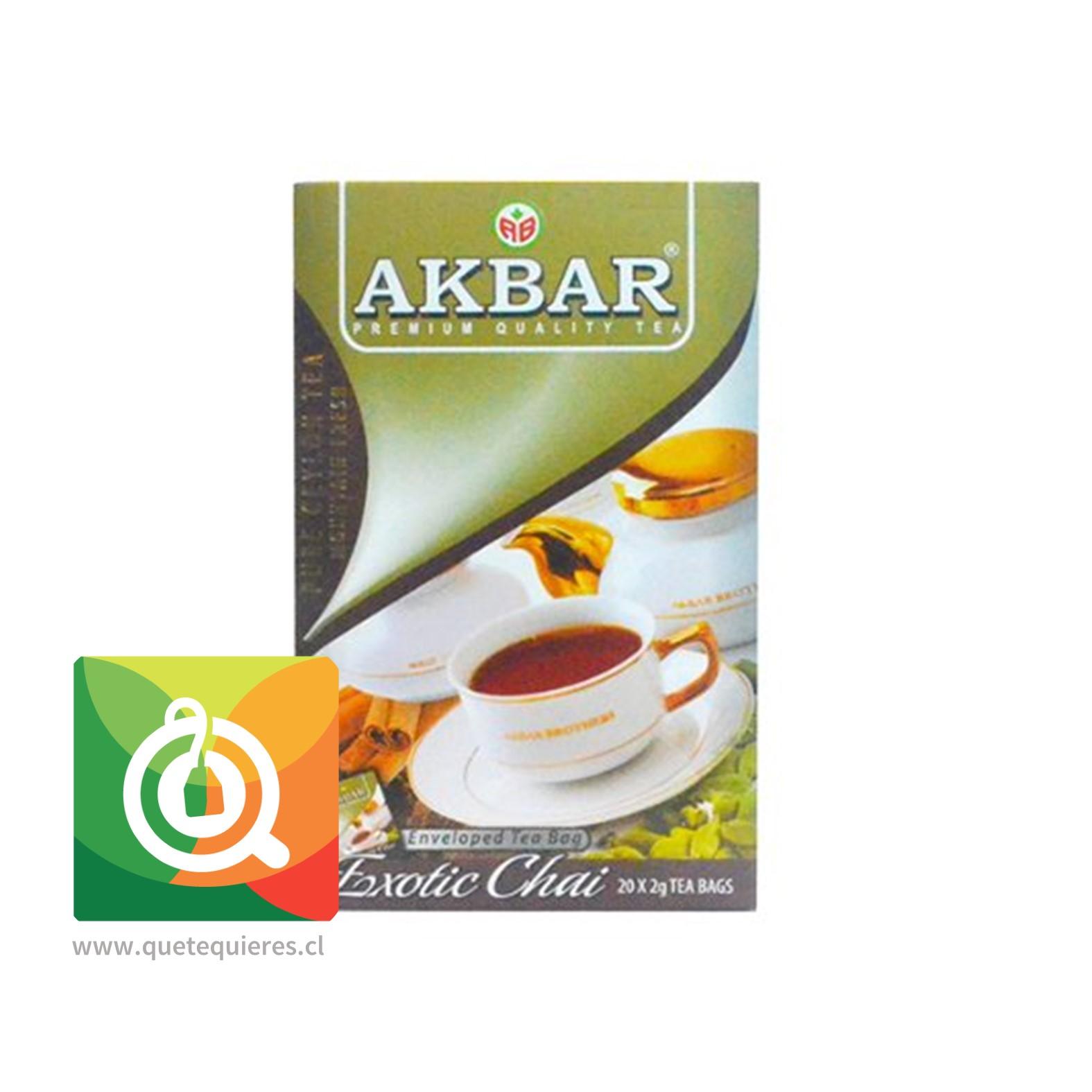 Akbar Té Negro Chai