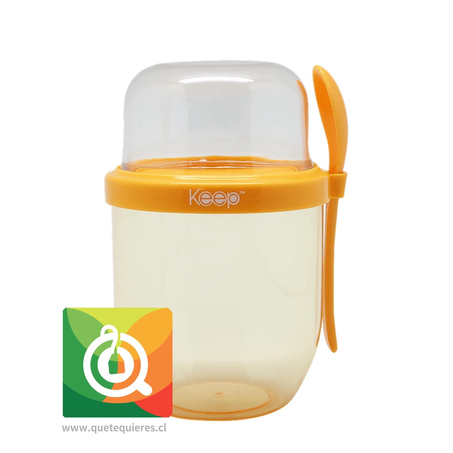 Keep Vaso Yogurt To Go II Naranjo