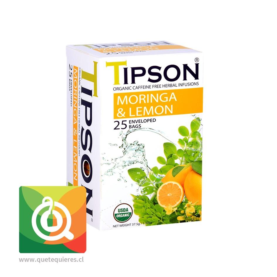 Tipson Infusión Moringa Limón