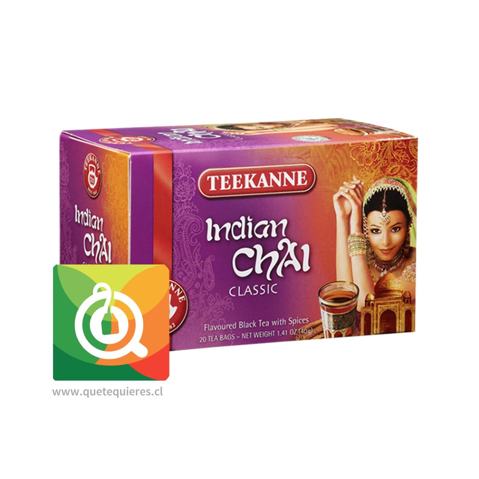 Teekanne Té Negro Chai De La India