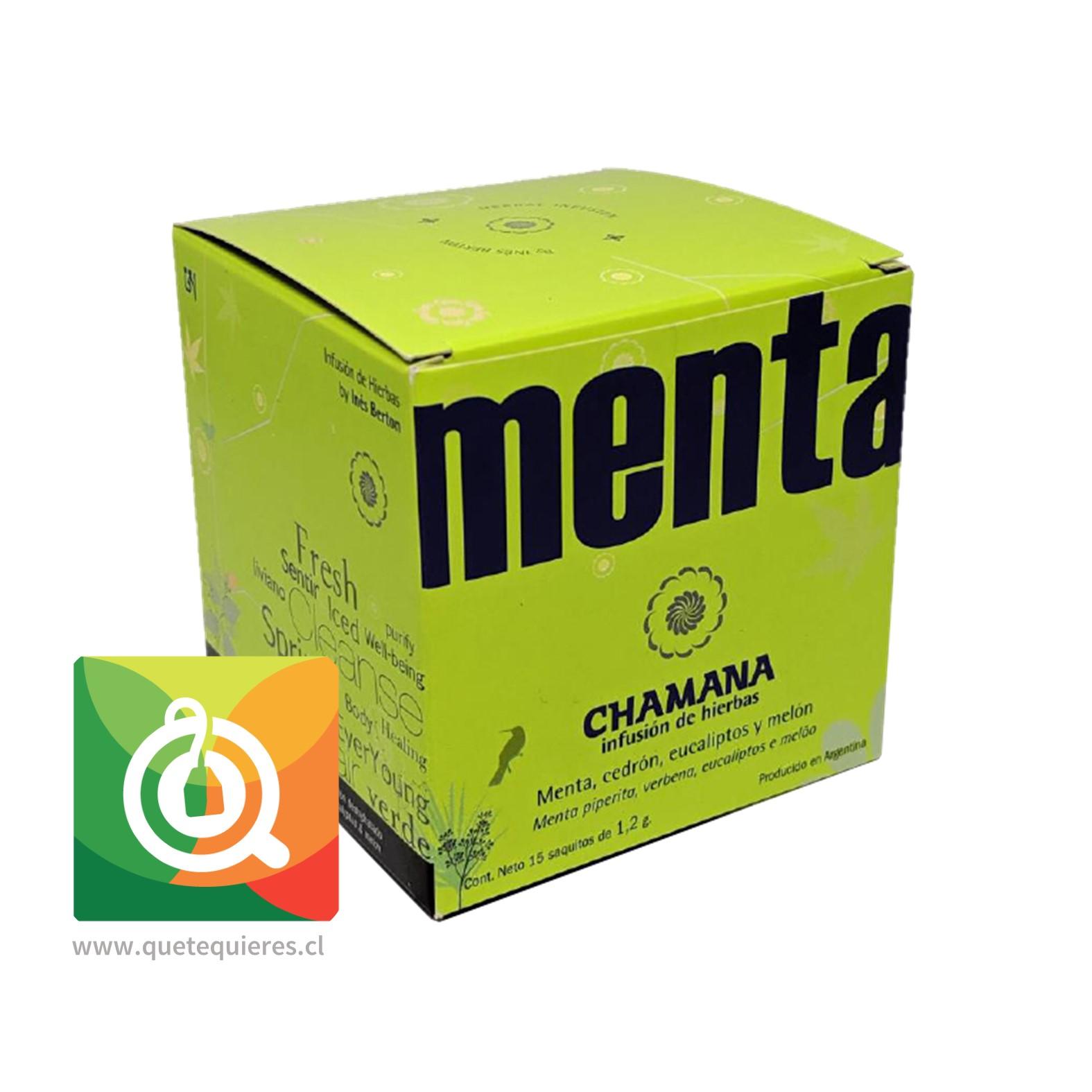 Chamana Infusión Menta Detox