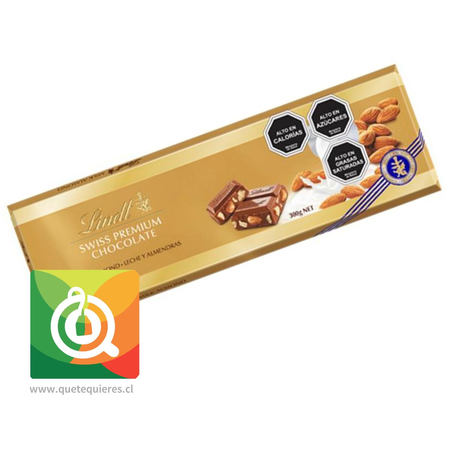 Lindt Chocolate Barra Gold Leche Almendra