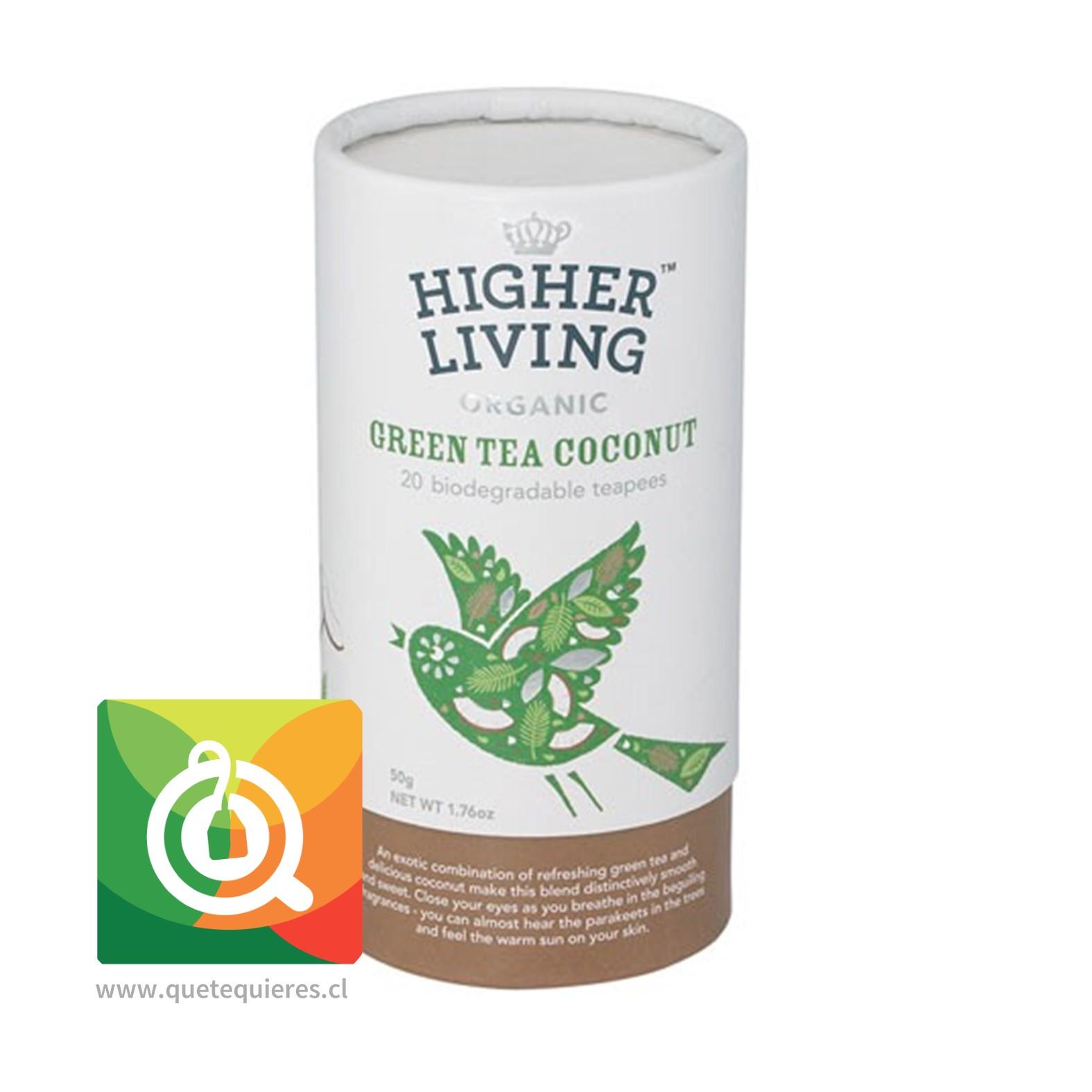 Higher Living Té Verde Coco
