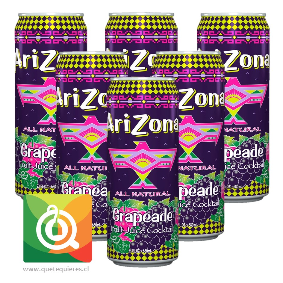 Arizona Nectar Uva Pack 6 unidades