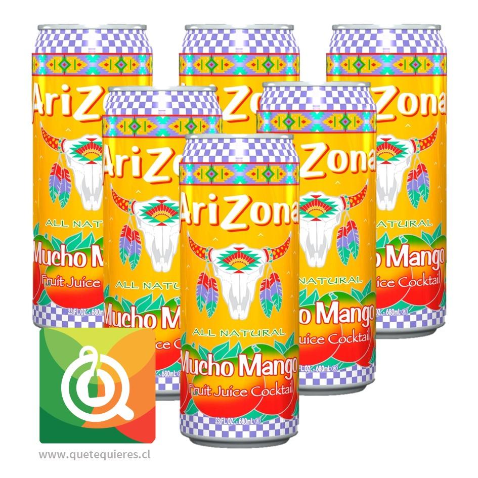 Arizona Nectar Mango Pack de 6 unidades