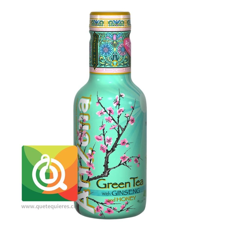 Arizona Té Verde Con Ginseng y Miel Zero