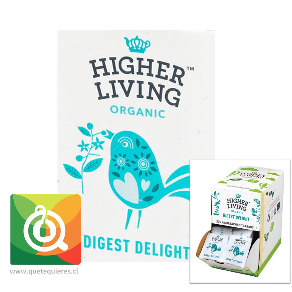 Higher Living Infusión Deleite de Digestión