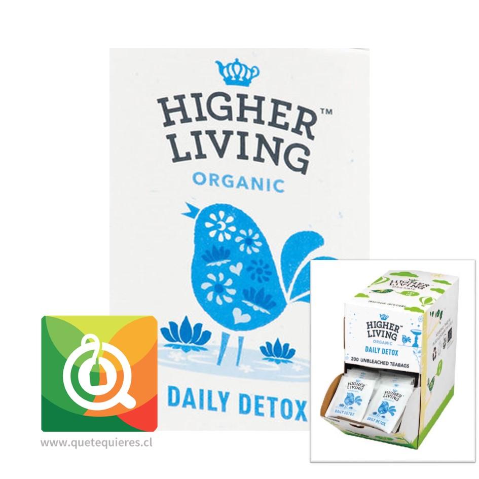 Higher Living Infusión Orgánica Desintoxicación Diaria