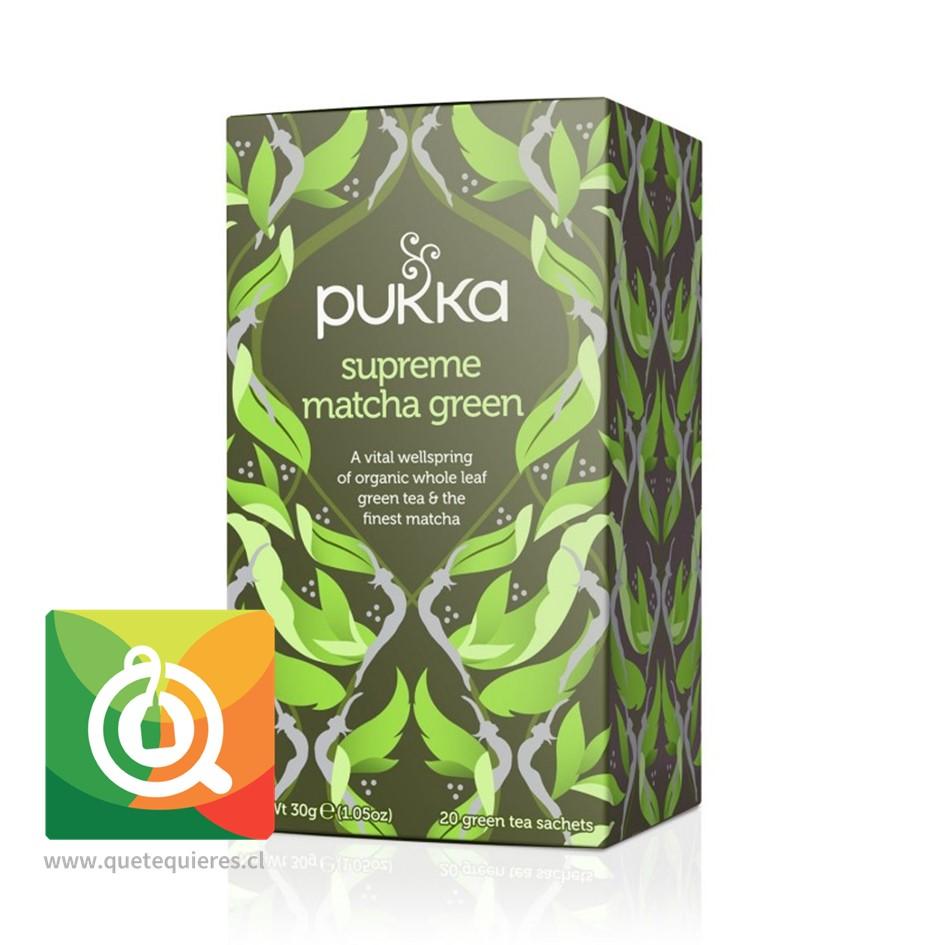 Pukka Té Verde Supreme Matcha Green