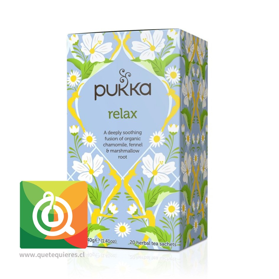 Pukka Infusión Relax