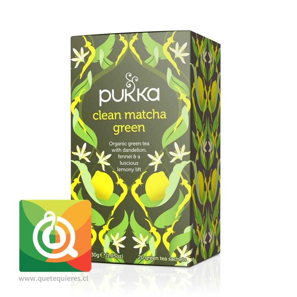Pukka Té Verde Clean Matcha Green