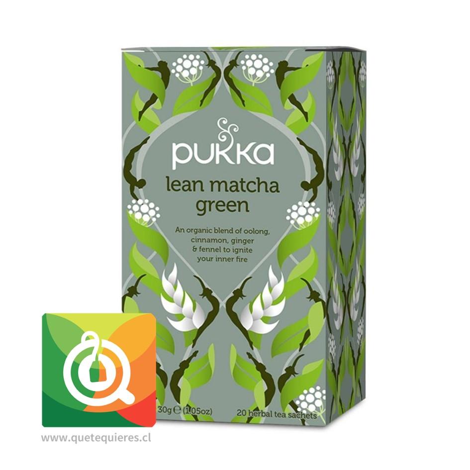 Pukka Té Oolong Lean Matcha Green