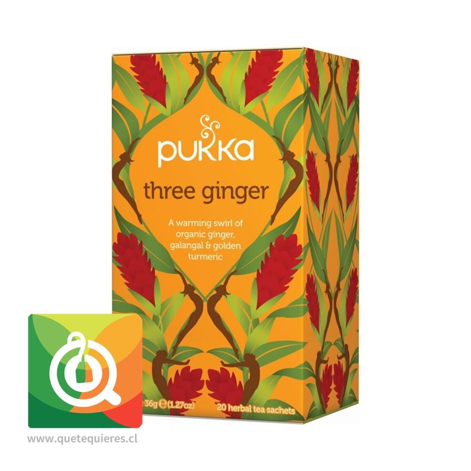 Pukka Infusión Three Ginger