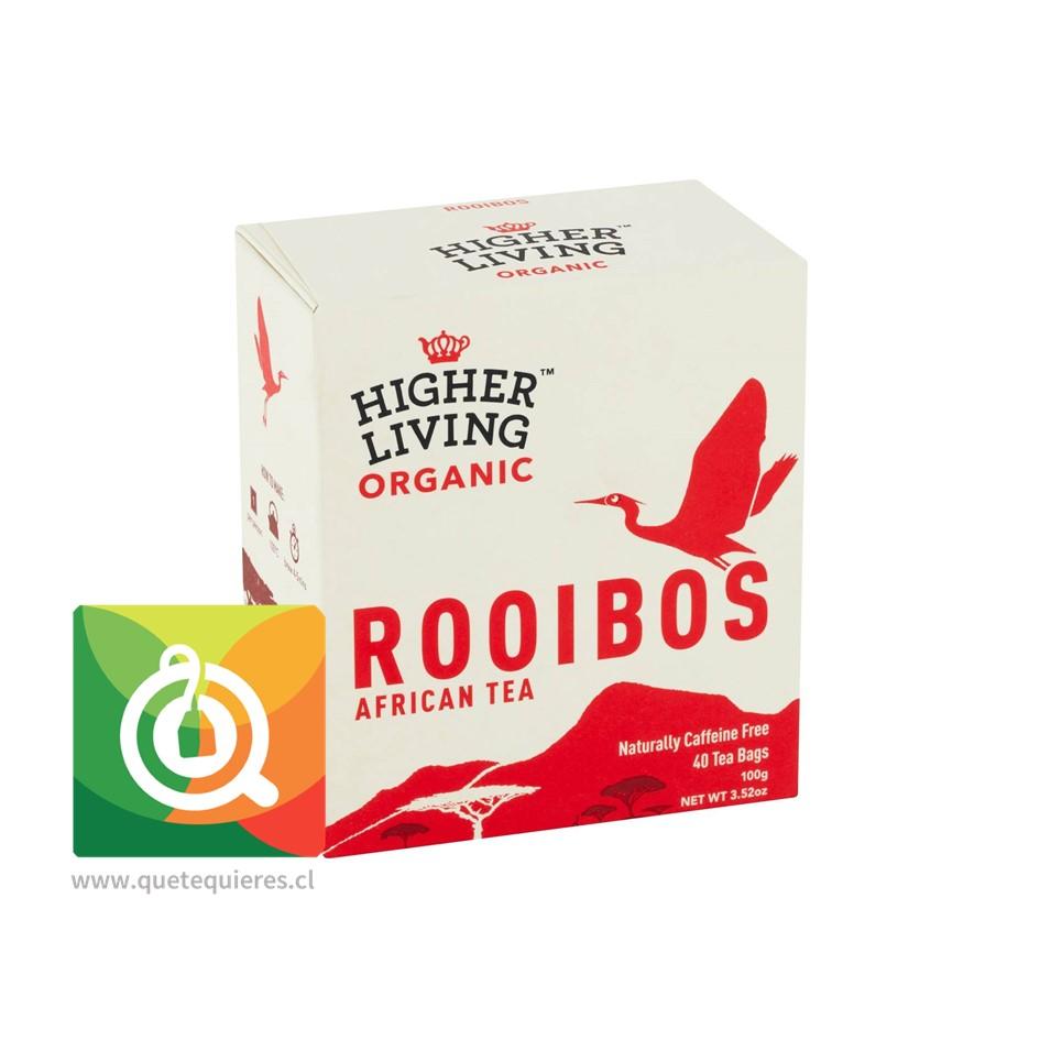 Higher Living Infusión Rooibos Orgánico