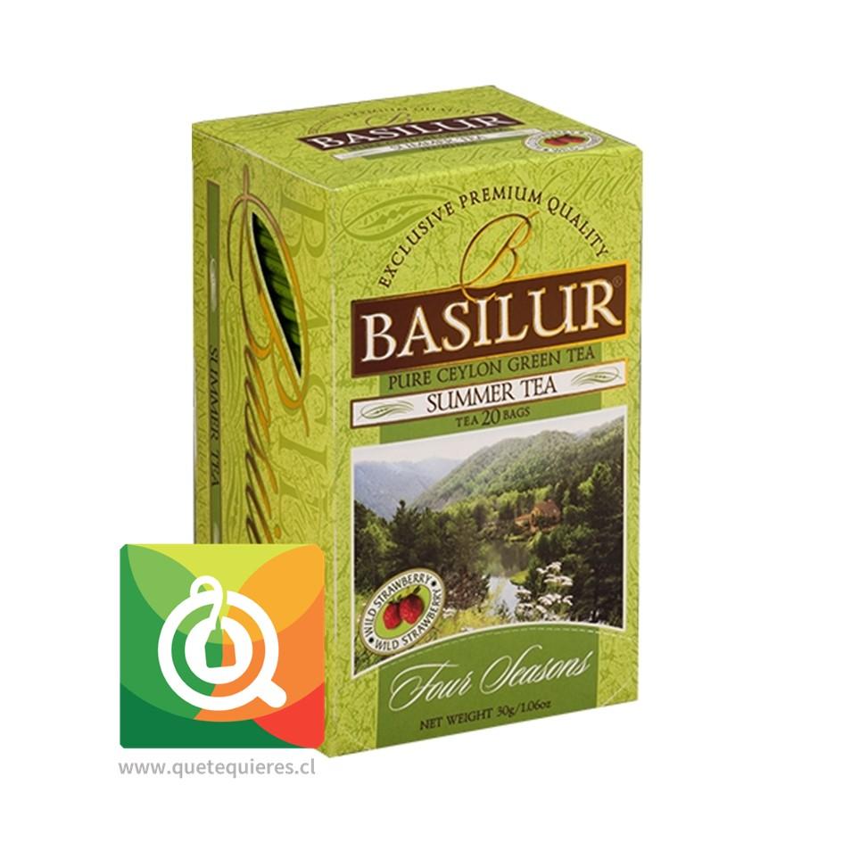 Basilur Té Verde Frutilla - Summer Tea