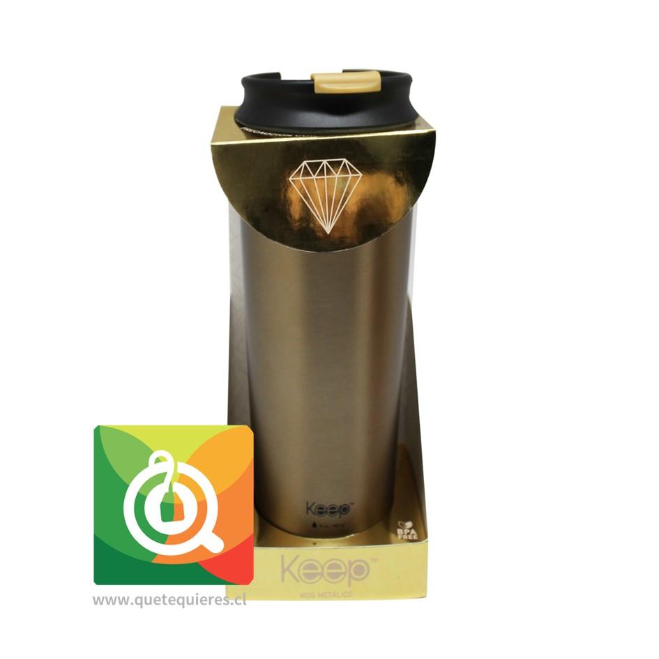 Keep Mug Térmico Metálico Precious Gold