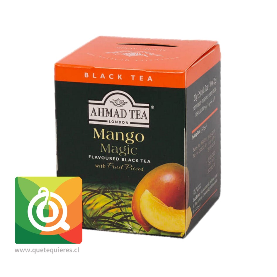Ahmad Té Negro Mango - Mango Magic