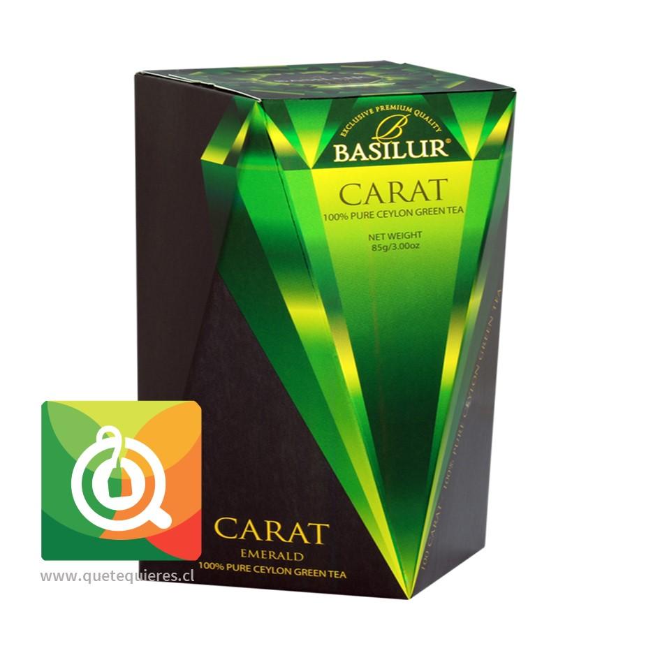 Basilur Té Verde Carat Emerald