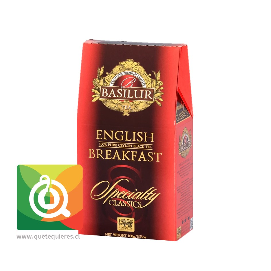 Basilur Té Negro English Breakfast - Specialty Classic - Image 1