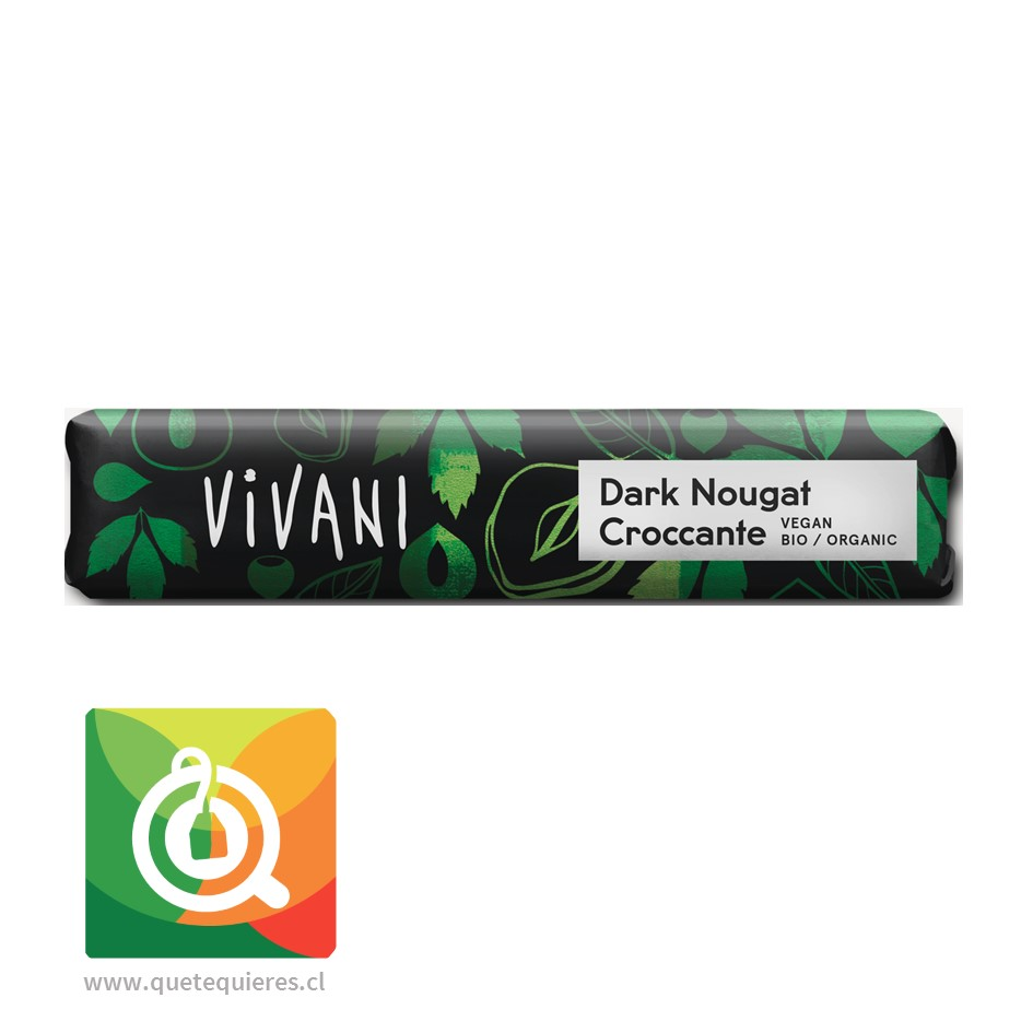 Vivani Barra de Chocolate Crocante Avellanas Orgánico