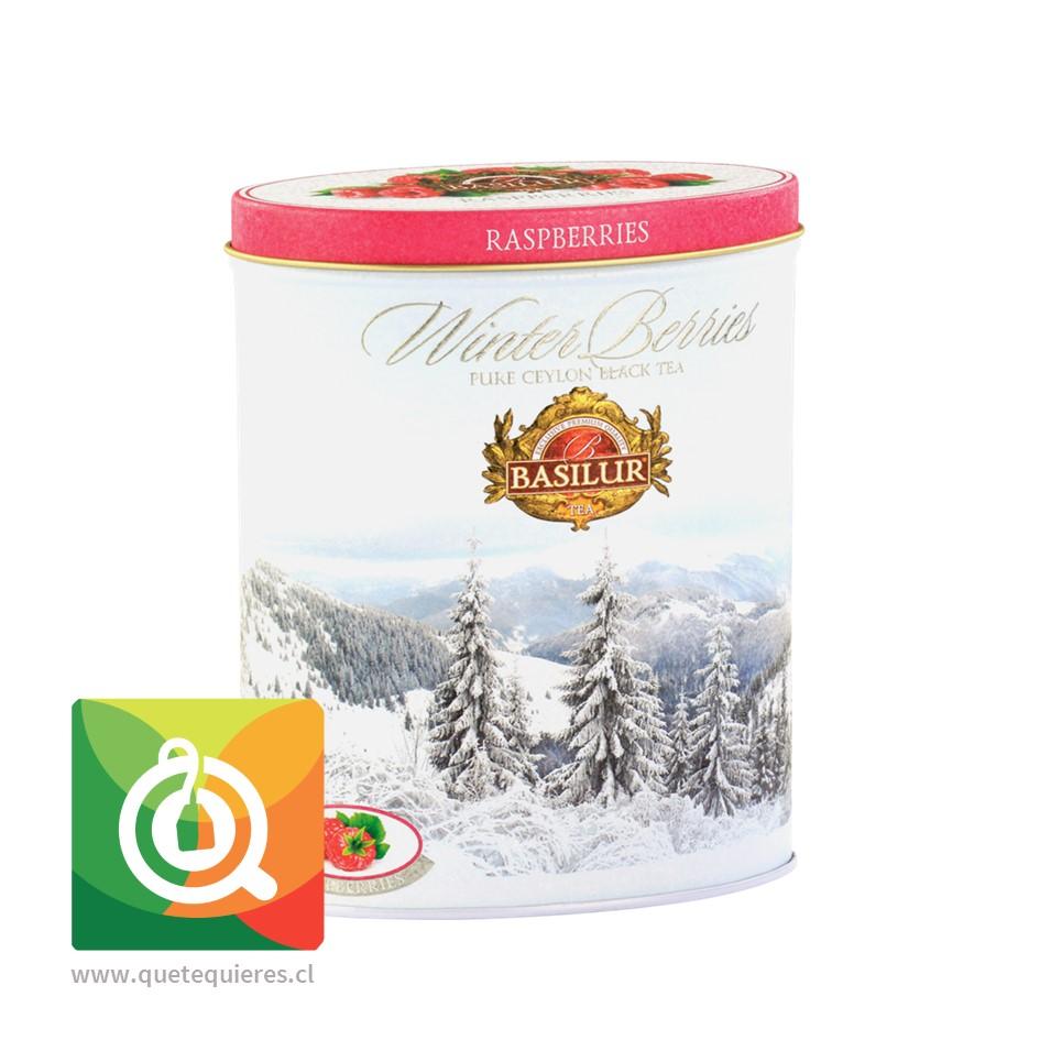 Basilur Té Negro Frambuesa - Winter Berries 100 gr