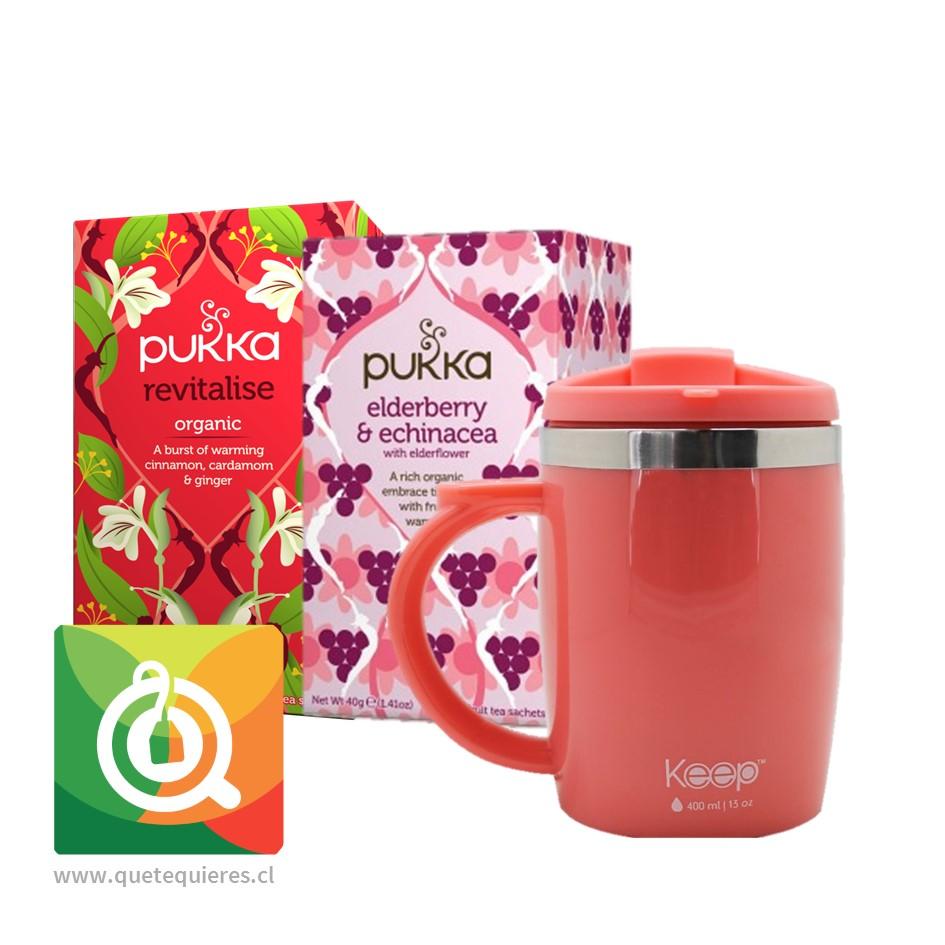 Pack Pukka Infusiones + Keep Mug Rosada