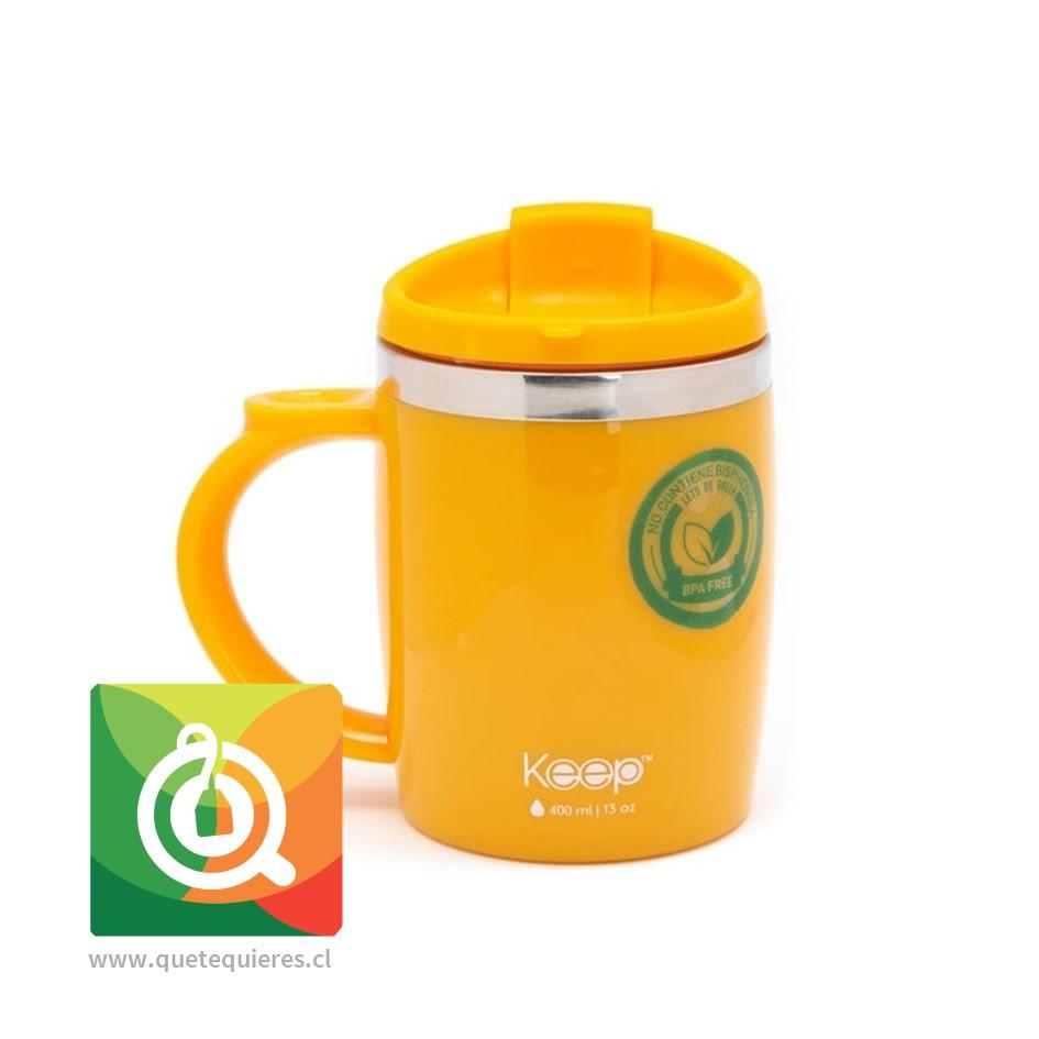 Keep Mug Taza Outdoor Naranja