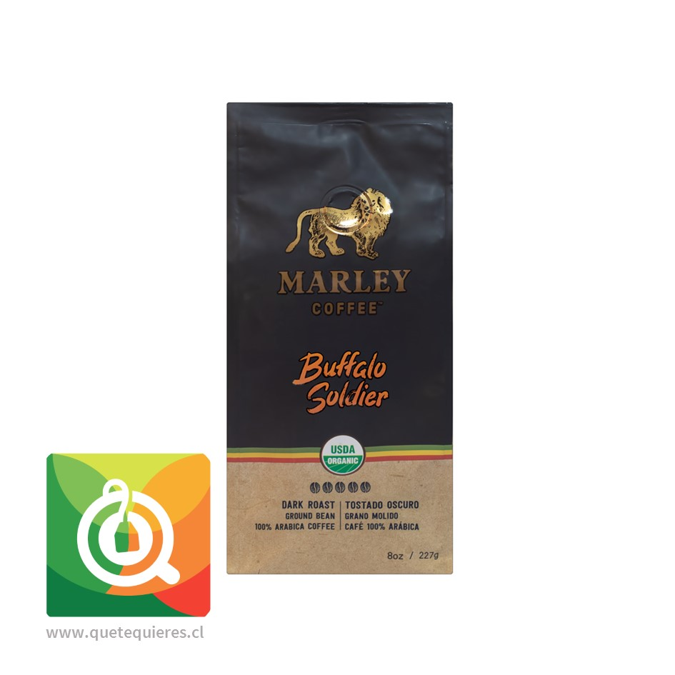 Marley Coffee Café Buffalo Soldier - Image 1