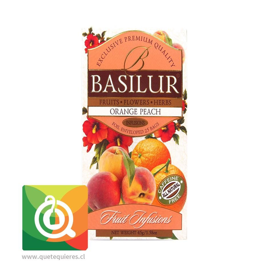 Basilur Infusión Melocotón Naranja