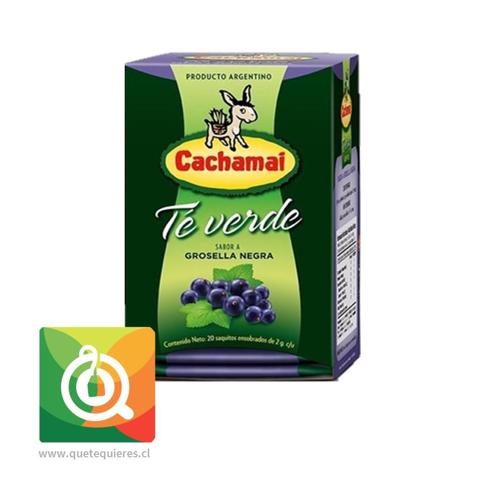 Cachamaí Té Verde Grosella Negra