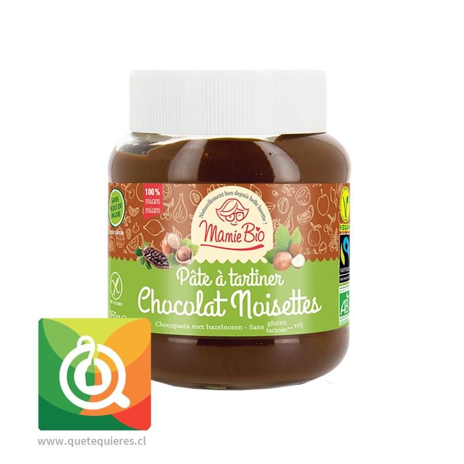 Mamie Bio Crema de Chocolate y Avellanas Sin Gluten - Lactosa