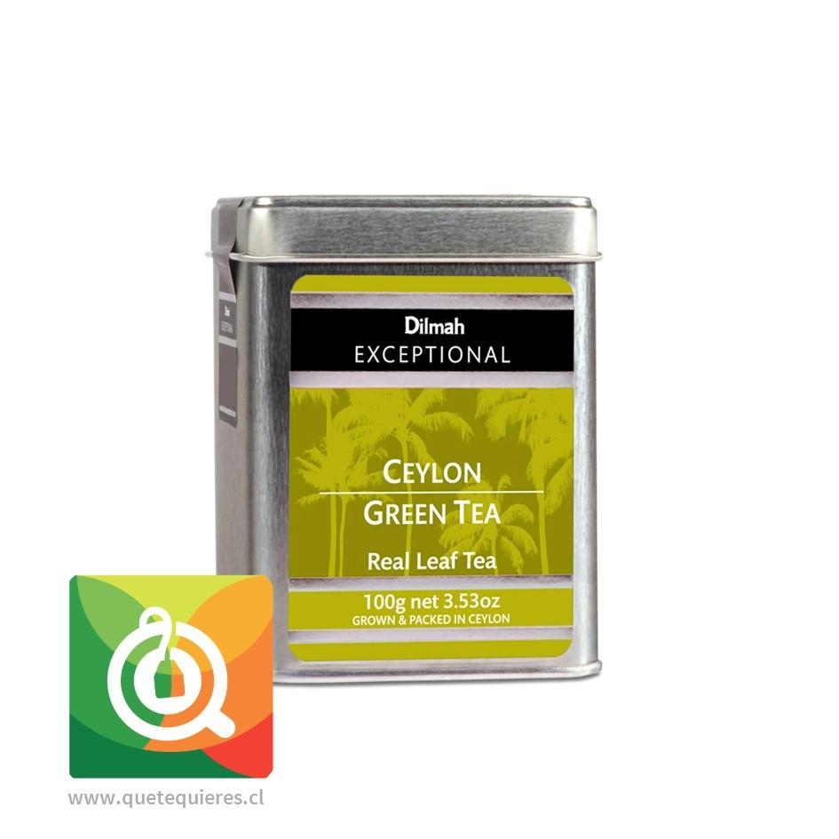 Dilmah Excepcional Té Verde Ceilán
