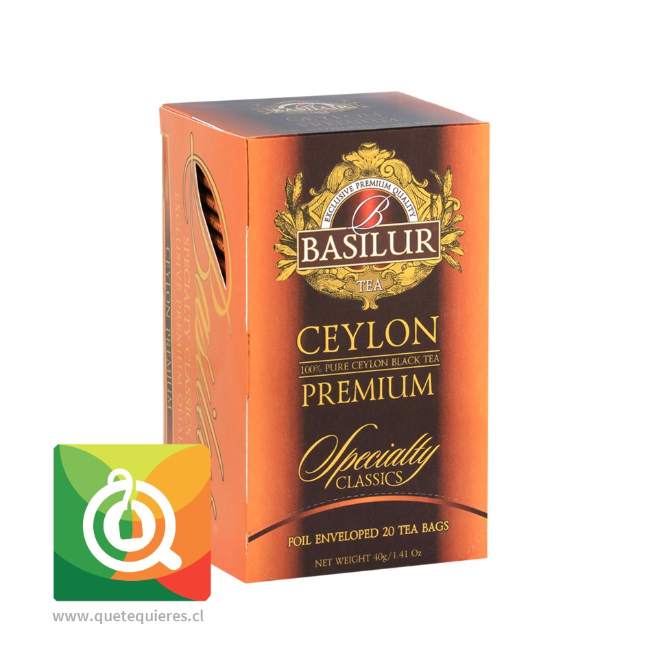 Basilur Té Negro Ceilán Premium