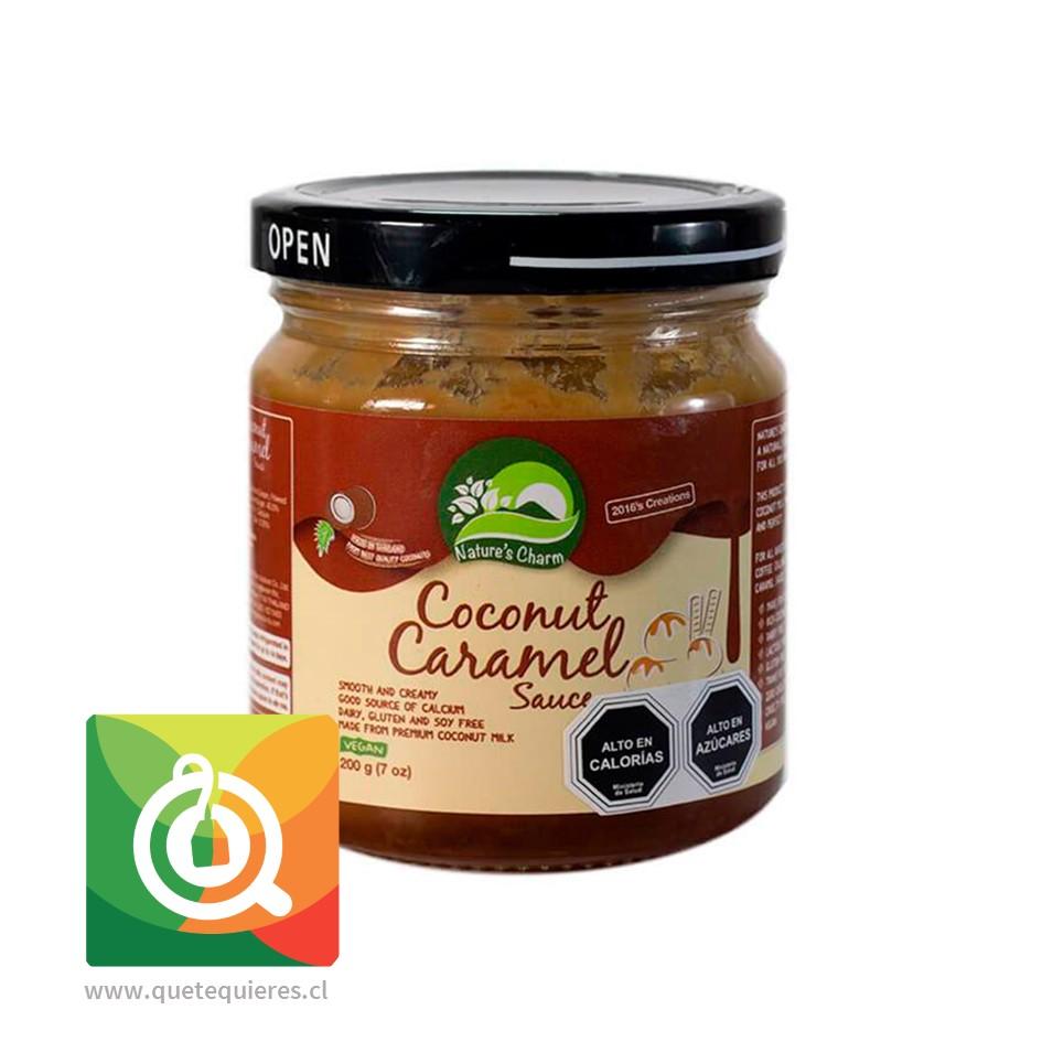 Nature's Charm Salsa de Coco Sabor Caramelo