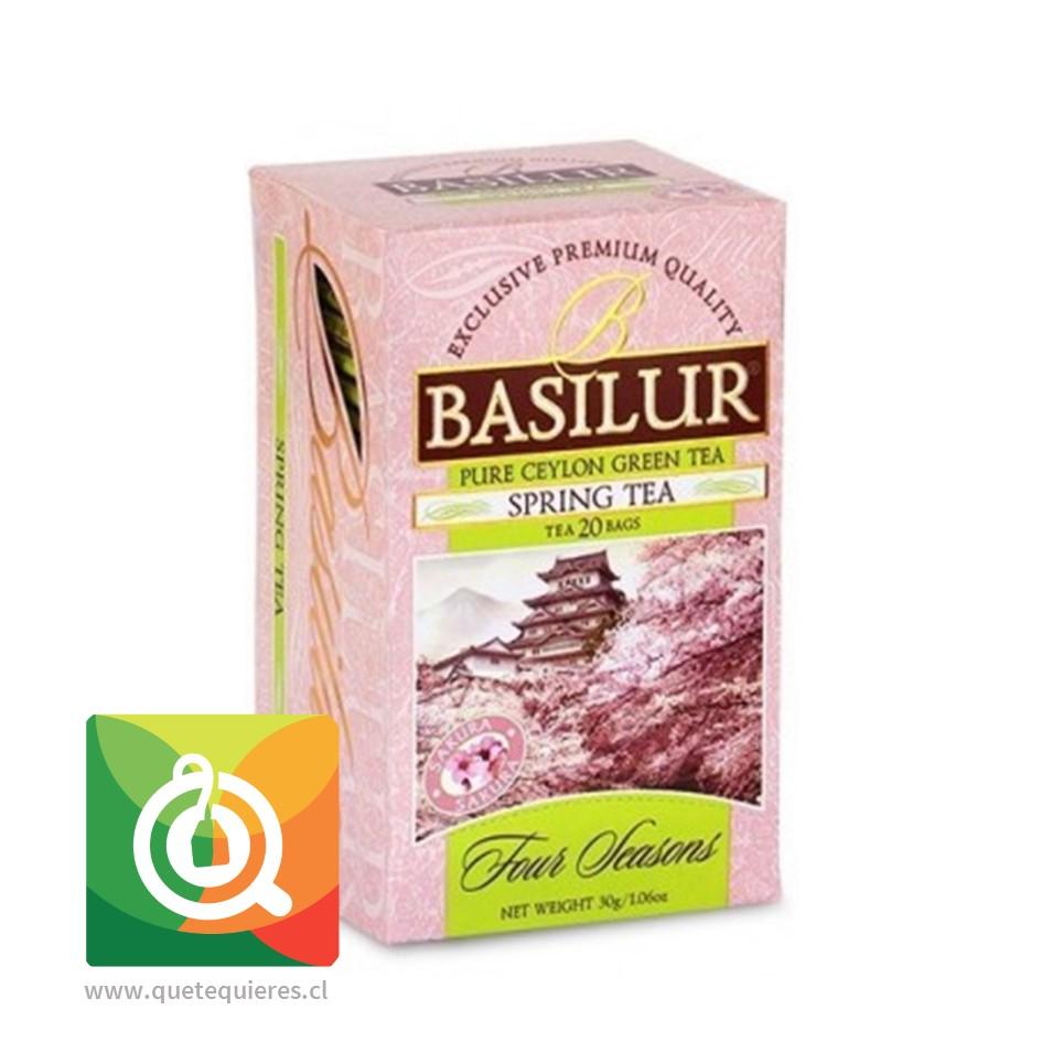 Basilur Té Verde Cereza - Spring Tea