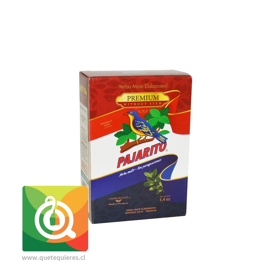 Pajarito Yerba Mate Premium 40 gr