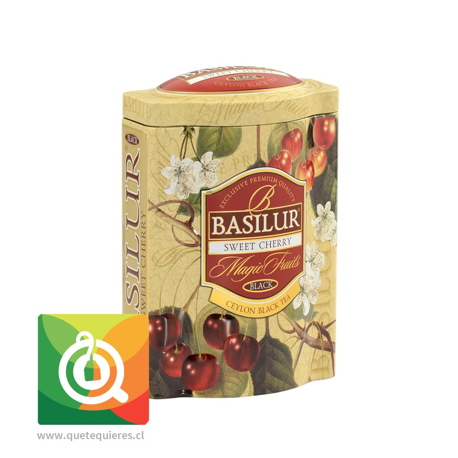 Basilur Té Negro Cereza dulce 100 gr