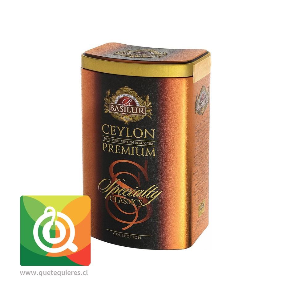 Basilur Té Negro Ceylon Lata 100 gr