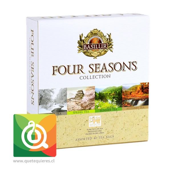 Basilur 4 Estaciones - Four Seasons Assorted 40 bolsitas