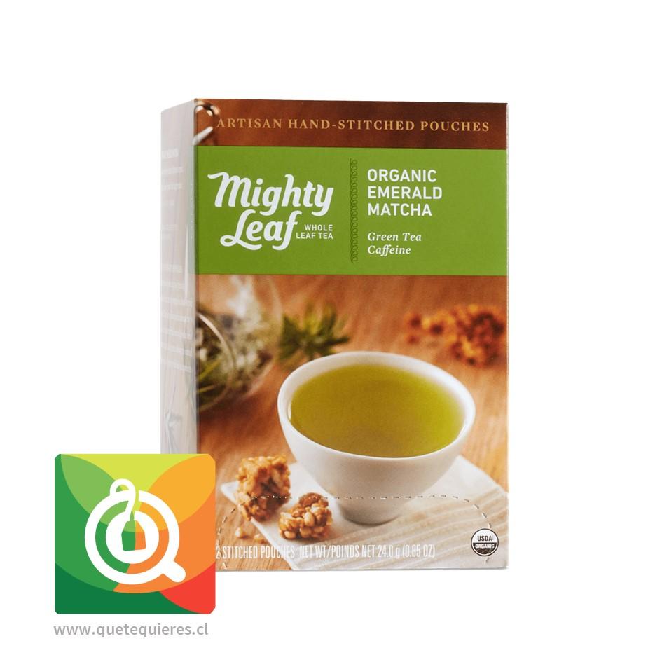 Mighty Leaf Té Verde Matcha Emerald Organico