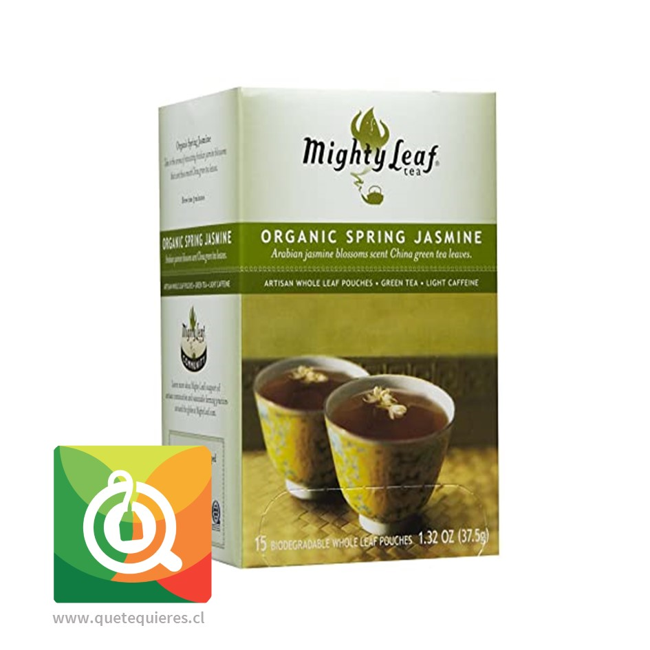 Mighty Leaf Té verde Jazmín de Primavera Orgánico