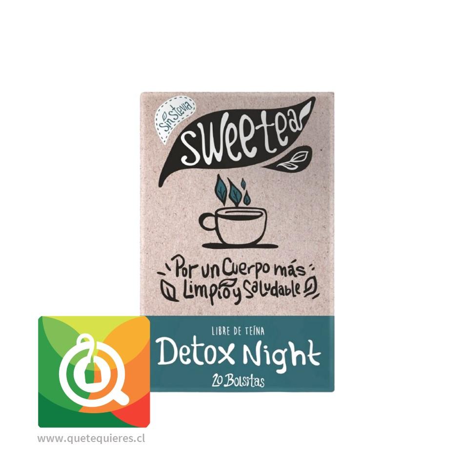Sweetea Infusión Detox noche sin Stevia