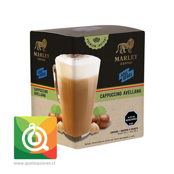 Marley Coffee Café Capuchino Instantáneo Sabor Avellanas