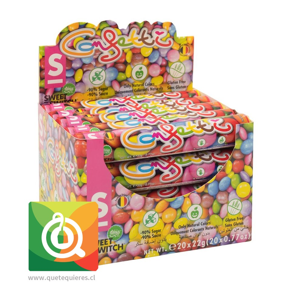 Sweet Switch Caramelos de Chocolate - Confetti 20 unidades